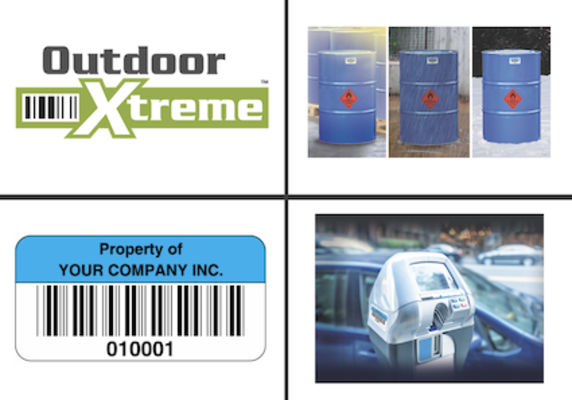 ID Label Introduces Outdoor Xtreme™ Barcode Labels and Asset Tags