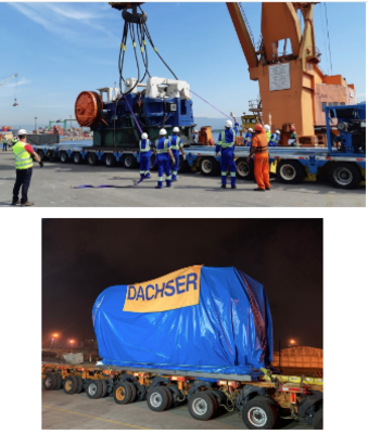 Dachser transports 138 Tons of Automotive Manufacturing Machinery from Brazil to Mexico