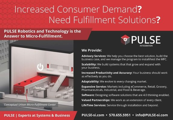 PULSE Robotics and Technology is the Answer to Micro-Fulfillment.