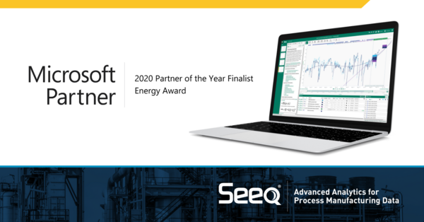 Seeq Recognized as a Finalist for  Energy 2020 Microsoft Partner of the Year
