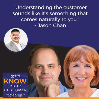 "Jason Chan Shares Customer Service Tips with the ""Really Know Your Customer"" Podcast"