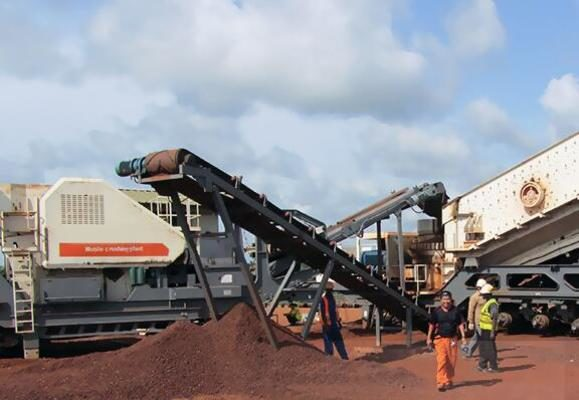 Mobile crusher technology is greatly improved