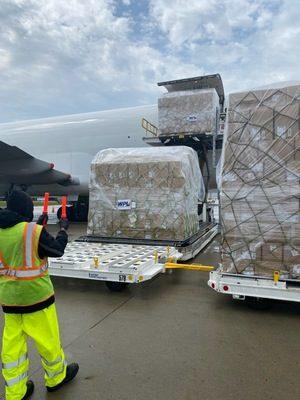 Wen-Parker Logistics brings new freighter flights direct from Vietnam to Rickenbacker Airport