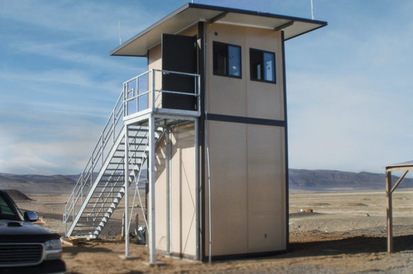 Panel Built Range Towers Offer a Convenient and Prefab Tower Solution