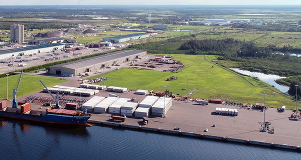 Port Manatee advances $8.3 million dockside yard expansion