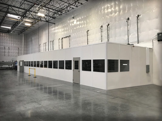 Panel Built Inplant Offices Help to Convert Commercial Work Spaces
