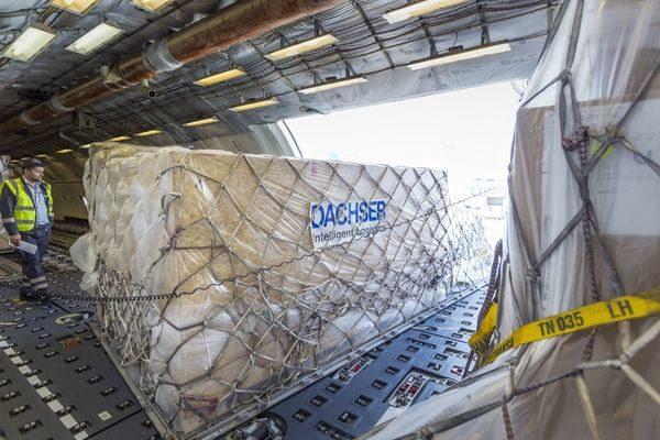 Dachser USA ASL marks one-year anniversary of consecutive Frankfurt-Chicago-Frankfurt air freight