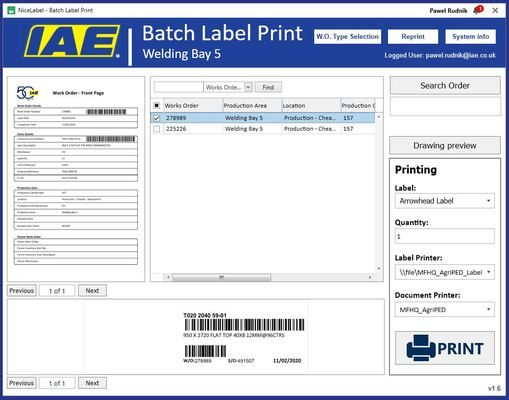 NiceLabel Improves IAE's Label Production with Label Cloud