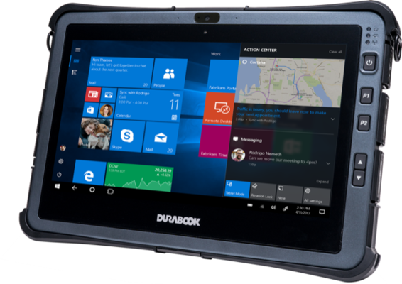 Durabook Unveils First Rugged Tablet with Intel's 10th Gen Intel® Core™ Processor