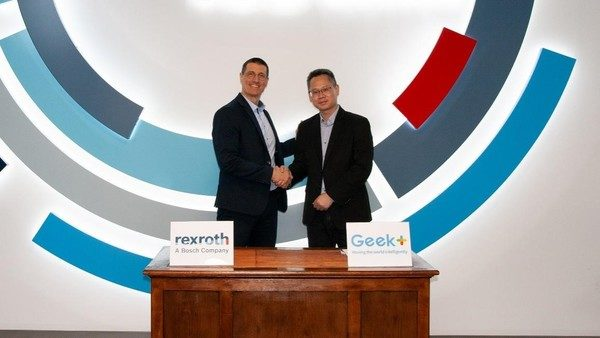 Geek+ and Bosch Rexroth announce technology partnership