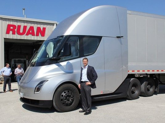 Ruan Named A Top Green Fleet