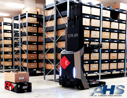 AHS Partners with Caja Robotics as Certified Systems Integrator