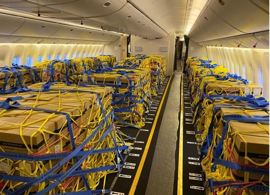 First B777-300ER Passenger to Cargo Cabin Conversion by JADE