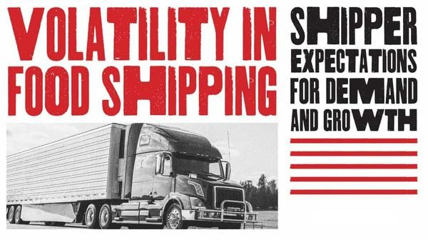 Research Reveals that 68 Percent of Food Shippers Tracking for  Higher Sales in 2020