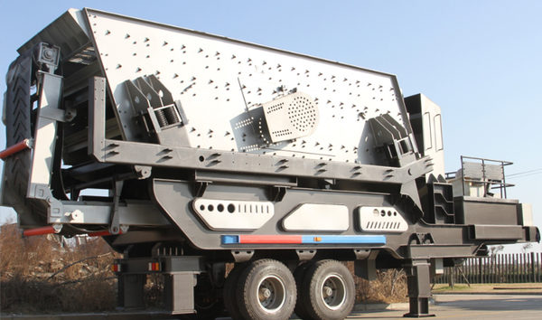 Low Operation Cost of portable crushing plant