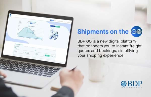 BDP International Unveils Digital Shipping Platform