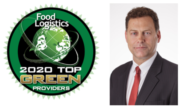 Consolidated Chassis ManagementNamed toFood Logistics' Top Green Providers List for 2020