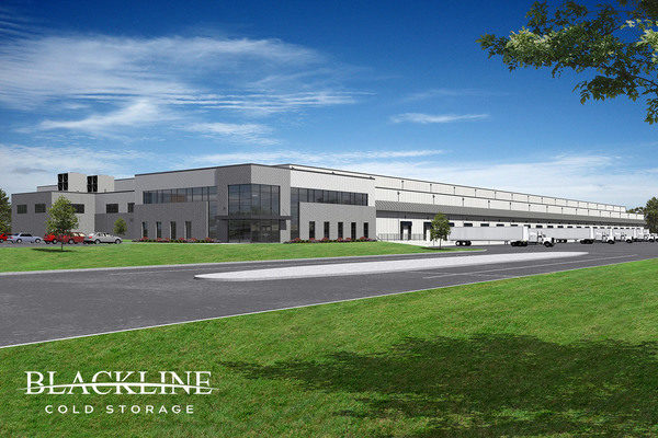 Blackline Cold Storage Building New Facility at the Port of Houston