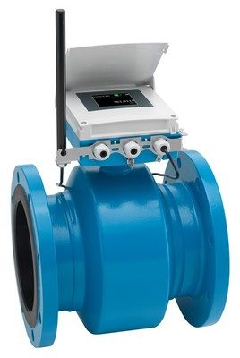 Flowmeter provides battery-powered flow measurement with integrated cloud connection
