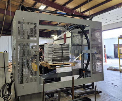 Powder Coated Orbital Wrappers Permit Semi-Outdoor Installation