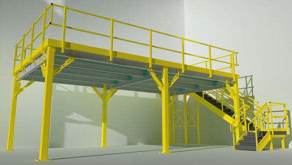 Steel King Expedites Warehouse Logistics for Largest, Most Challenging Work Platforms