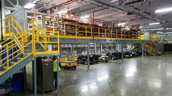 Panel Built Mezzanines Help Soothe Growing Pains for Expanding Companies