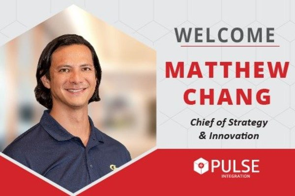 PULSE Announces Matthew Chang as Chief of Strategy and Innovation.
