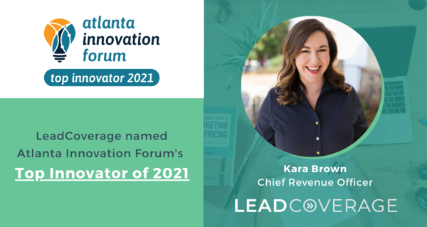 LeadCoverage Receives Top Innovator 2021 Award