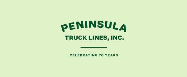 Peninsula Truck Lines Celebrates 70 Years of Trucking