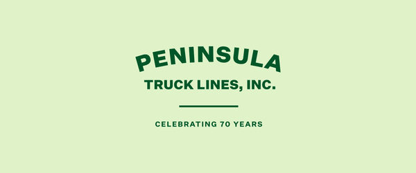 Peninsula Truck Lines Celebrates 70 Years of Trucking