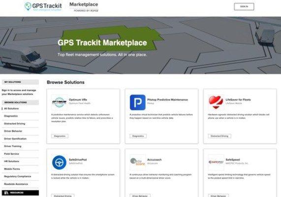 GPS Trackit Launches Innovative Digital Fleet Management Marketplace