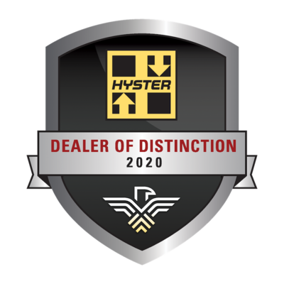 Hyster Recognizes Highest Performing Dealers of 2020
