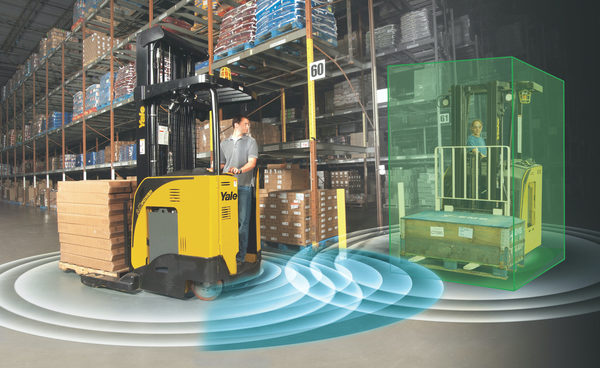 Yale Breaks New Ground for Warehouses with Operator Assist Lift Truck Technology