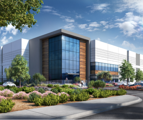 ALERE PROPERTY GROUP BEGINS CONSTRUCTION ON NEW INLAND EMPIRE 211,000-SF INDUSTRIAL WAREHOUSE