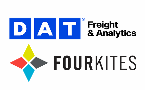 DAT, FourKites partner to provide unparalleled visibility into spot truckload shipments