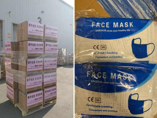 Logistics Plus Picks Up and Delivers 50,000 Masks for the City of Erie