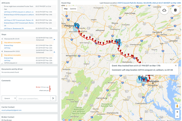 BlueGrace Logistics Selects Trucker Tools for Real-time Truckload Shipment Visibility