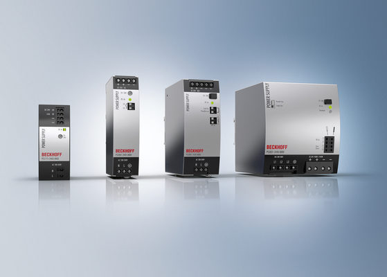Beckhoff Offers New Line of Compact, Universal 24/48 V DC Power Supplies