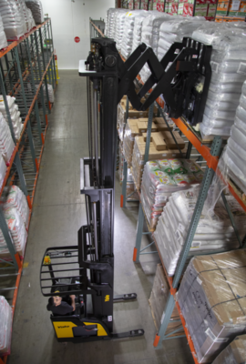 Yale Elevates Comfort, Productivity with New Narrow Aisle Reach Truck