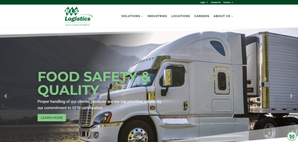 RLS LOGISTICS LAUNCHES NEW COMPANY WEBSITE