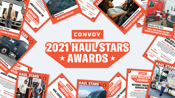 """Convoy Celebrates America's Truck Drivers with """"Haul Stars"""" Awards"""