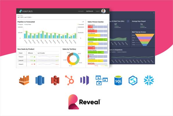 Enhanced Reveal Business Intelligence Platform Offers Integrated Data Visualizations
