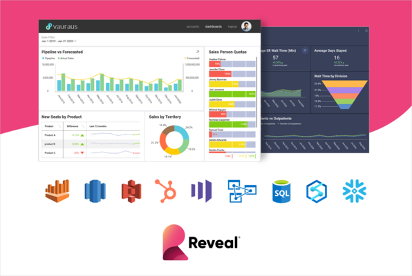 Enhanced Reveal Business Intelligence Platform Offers Integrated Data Visualizations