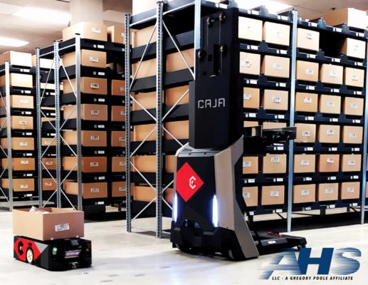 AHS Supports Caja Robotics Installation