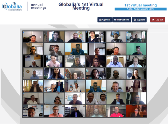 Globalia Logistics Network concludes its First Virtual Meeting successfully