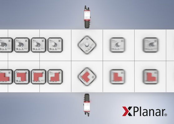 XPlanar's Software-based Rotation Increases Freedom of Movement in Flying Motion