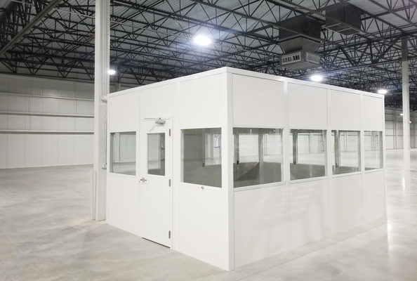 Panel Built Factory Offices Create Controlled Spaces in Hectic Environments