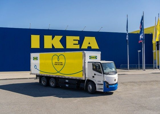 NEWS: IKEA Canada partners with Second Closet and Lion Electric; takes steps towards zero-emission l