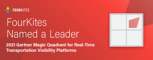 FourKites Named A Leader in the 2021 Gartner Magic Quadrant for  Real-Time Transportation Visibility