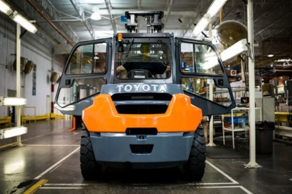 Toyota Material Handling Marks 30 Years of Manufacturing in USA